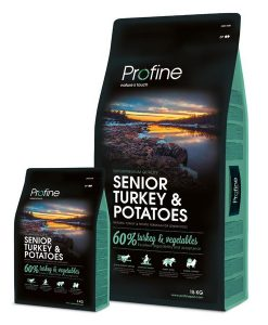 Granule pro psy Profine SENIOR TURKEY/Potatoes  - 15kg