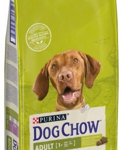 Granule pro psy PURINA  dog chow  ADULT  Lamb & Rice - 14kg