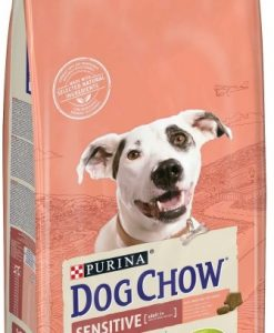 Granule pro psy PURINA  dog chow   SENSITIVE salmon   - 2 x 14kg