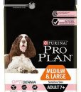 Granule pro psy Purina Pro Plan Dog Medium & Large Adult 7+ Sensitive Skin - 14kg