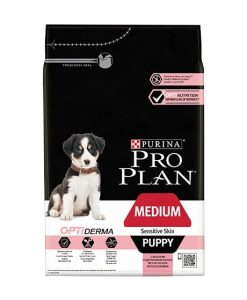 Granule pro psy Purina Pro Plan Dog Medium Puppy Sensitive Skin  - 3kg
