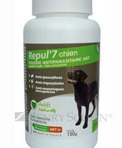 Antiparazitika REPUL 7 dog  repelentní pudr  - 150g
