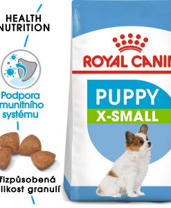 Granule pro psy Royal Canin       X - Small  Puppy - 500g