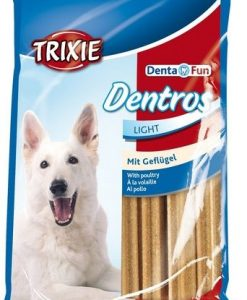Pamlsky a pochoutky Trixie   pochoutka  dog DENTROS light  - 7ks/180g