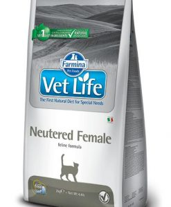 Granule pro kočky VET LIFE  cat  NEUTERED FEMALE natural     - 2kg