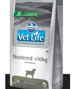 Granule pro psy VET LIFE  dog  NEUTERED nad 10kg  natural  - 12kg