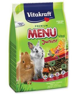 Krmiva VITAKRAFT menu RABBIT  Junior                                - 500g