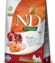 Granule pro psy N&D dog GF PUMPKIN ADULT MINI chicken/pomegranate - 2