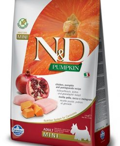 Granule pro psy N&D dog GF PUMPKIN ADULT MINI chicken/pomegranate - 800g