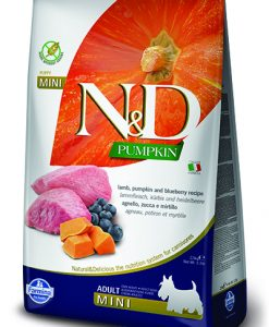 Granule pro psy N&D dog GF PUMPKIN ADULT MINI lamb/blueberry - 2