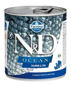 Konzervy N&D dog OCEAN konz. ADULT salmon/codfish   - 285g