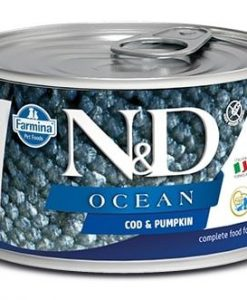 Konzervy N&D dog OCEAN konz. PUPPY MINI codfish/pumpkin   - 140g