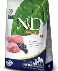 Granule pro psy N&D dog PRIME ADULT MEDIUM/LARGE lamb/blueberry - 12kg