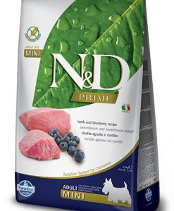 Granule pro psy N&D dog PRIME ADULT MINI lamb/blueberry - 7kg