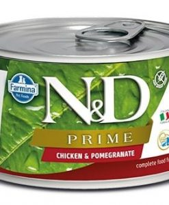 Konzervy N&D dog PRIME konz. PUPPY MINI chicken/pomegranate  - 140g