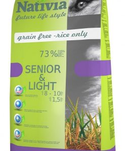 Granule pro psy NATIVIA dog SENIOR & LIGHT - 15kg