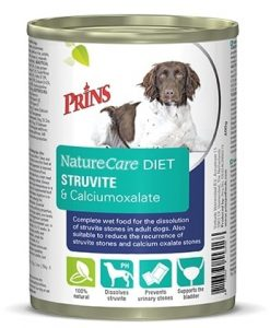 Konzervy PRINS NatureCare Veterinary Diet STRUVITE & Calciumoxalate - 400g