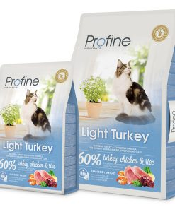Granule pro kočky PROFINE cat  LIGHT turkey - 10kg
