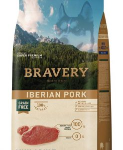 Vzorky VZOREK - BRAVERY dog  ADULT  mini PORK                             - 70g