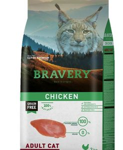 Vzorky VZOREK - BRAVERY  cat  ADULT   CHICKEN   - 70g