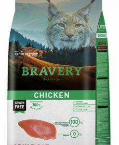 Vzorky VZOREK - BRAVERY  cat  STERILIZED CHICKEN    - 70g