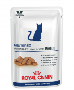 Kapsy Royal Canin Veterinary Care Cat Neutered Weight Balance Pouch - 100g