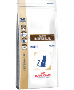 Granule pro kočky Royal Canin Veterinary Diet Cat Gastrointestinal - 4kg