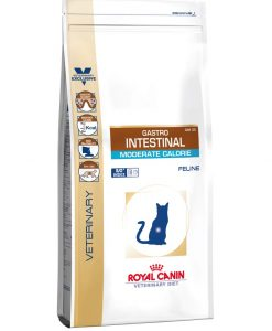 Granule pro kočky Royal Canin Veterinary Diet Cat Gastrointestinal Moderate Calorie - 4kg
