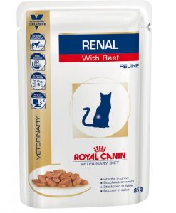 Kapsy Royal Canin Veterinary Diet Cat Renal Beef Pouch - 85g