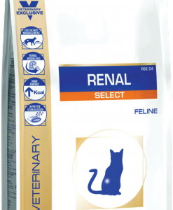 Granule pro kočky Royal Canin Veterinary Diet Cat Renal Select - 4kg