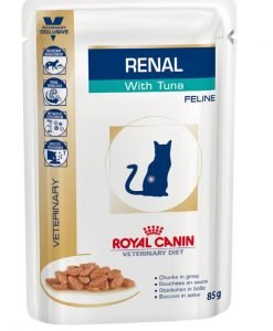 Kapsy Royal Canin Veterinary Diet Cat Renal Tuna Pouch - 85g