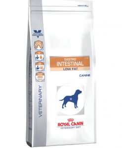 Granule pro psy Royal Canin Veterinary Diet Dog Gastrointestinal Low Fat - 12kg