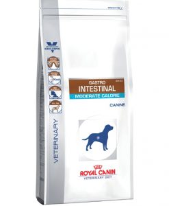 Granule pro psy Royal Canin Veterinary Diet Dog Gastrointestinal Moderate Calorie - 2kg