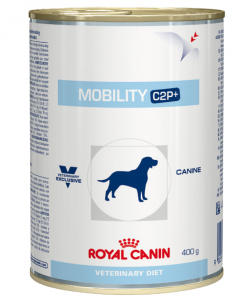 Konzervy Royal Canin Veterinary Diet Dog Mobility C2P+ Can - 400g