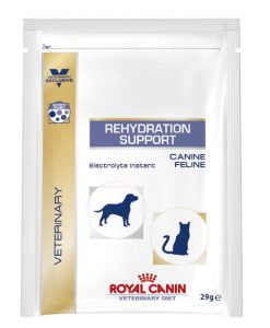 Kapsy a paštiky Royal Canin Veterinary Diet Rehydratation Instant Dog/Cat - 29g