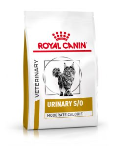 Granule pro kočky Royal Canin Veterinary Health Nutrition Cat Urinary S/O Moderate Calorie - 1