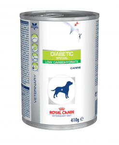 Konzervy Royal Canin Veterinary Health Nutrition Dog Diabetic Can - 410g