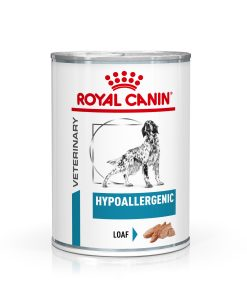 Konzervy Royal Canin Veterinary Health Nutrition Dog Hypoallergenic Can - 400g