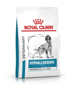 Granule pro psy Royal Canin Veterinary Health Nutrition Dog Hypoallergenic Moderate Calorie - 7kg