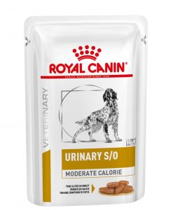 Kapsy a paštiky Royal Canin Veterinary Health Nutrition Dog Urinary S/O Moderate Calorie Pouch - 100g