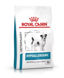 Granule pro psy Royal Canin Veterinary Health Nutrition Hypoallergenic Small - 1kg